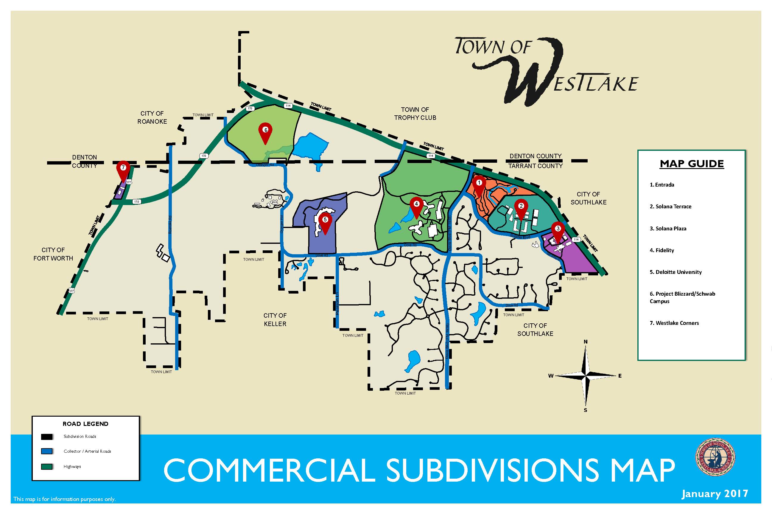 Commercial Map