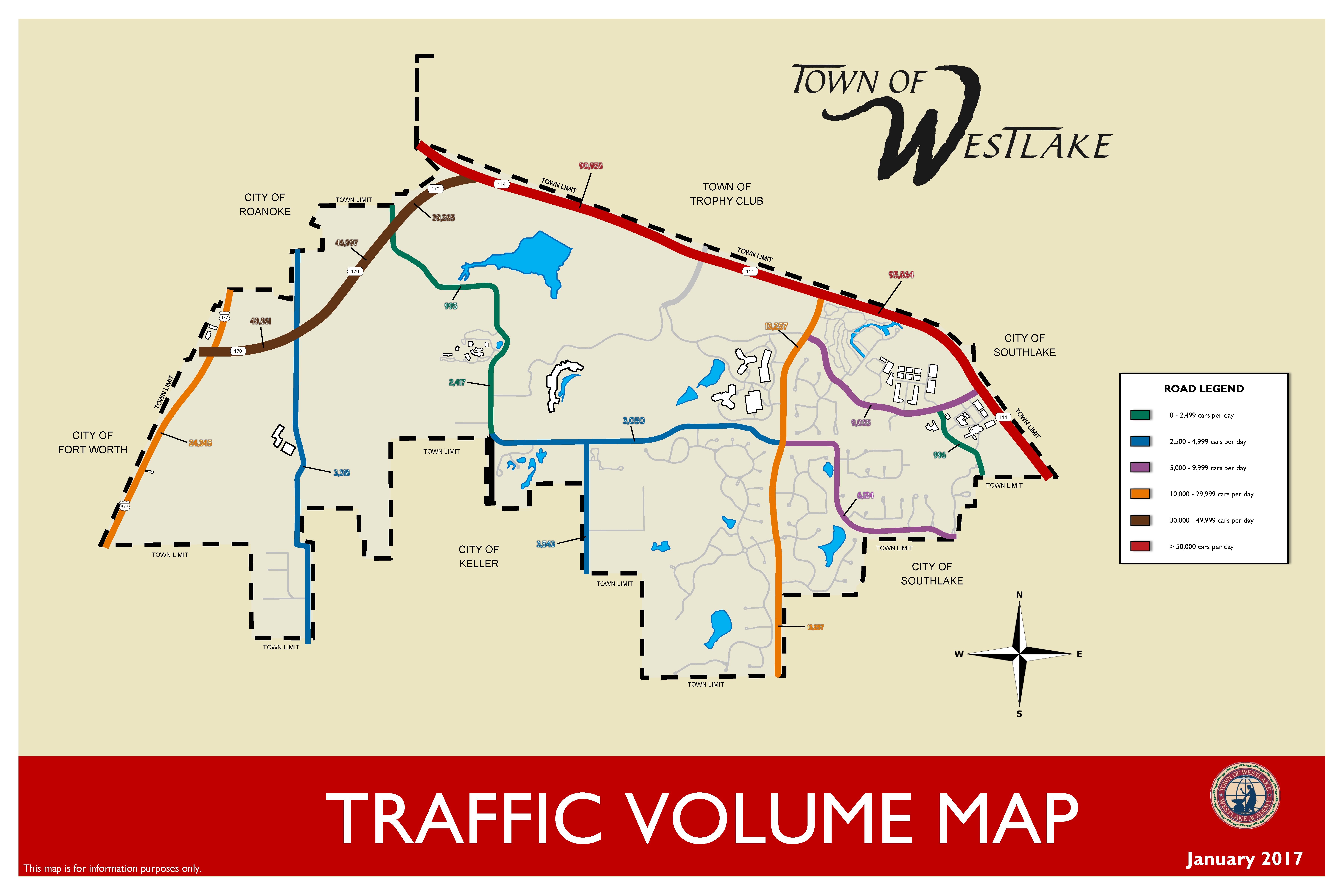 Traffic Volume Map
